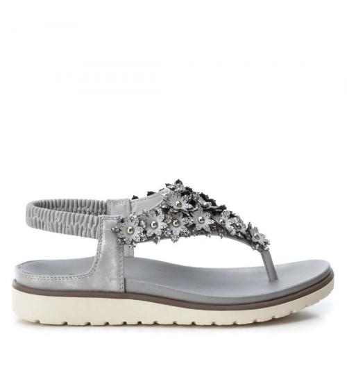 Sandalo grigio in tessuto by XTi