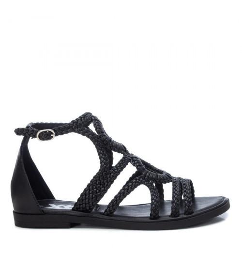 Sandali neri con treccia by XTI