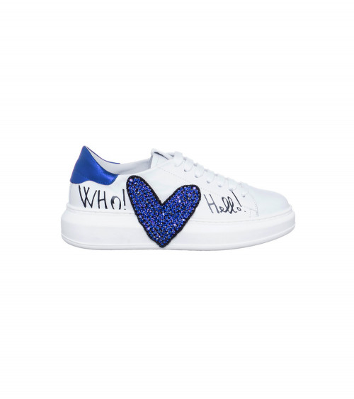 Sneakers Cuore con strass by Gio+