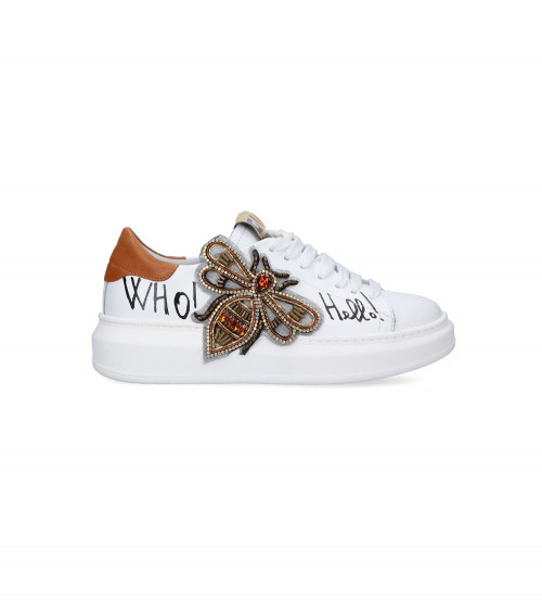 Sneakers Ape in pelle by Gio+