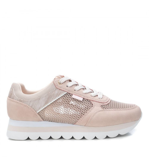 Sneakers nude in tessuto by XTI