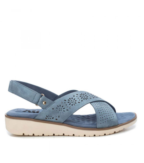 Sandalo piatto colore denim by XTI