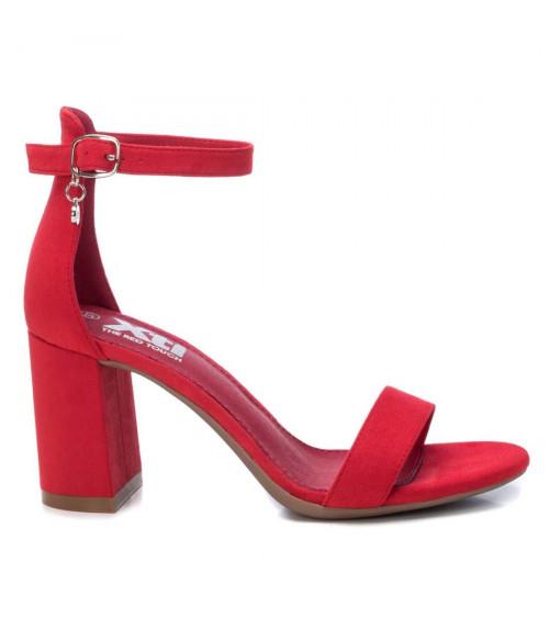 Sandalo rosso con tacco by XTi